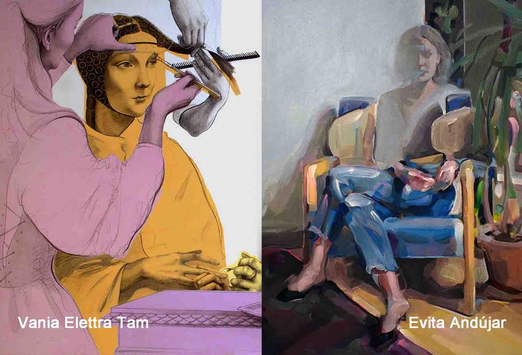 La donna moltiplicata - Evita Andújar - Vania Elettra Tam - Galleria Francesco Zanuso