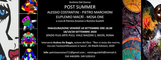 "Mostra collettiva ""Post Summer\"""