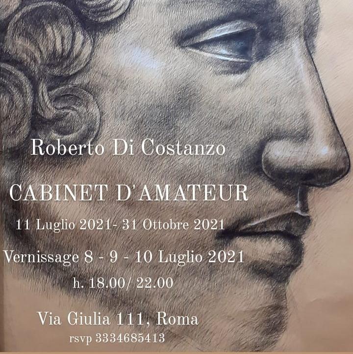 Locandina Mostra Cabinet D'Amateur Roberto Di Costanzo