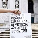 OPEN CALL Aperte le iscrizioni al 29° Corso in Pratiche Curatoriali e Arti Contemporanee