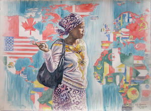 MADRASAT MILANO. Esposizione delle opere di Ali Hassoun