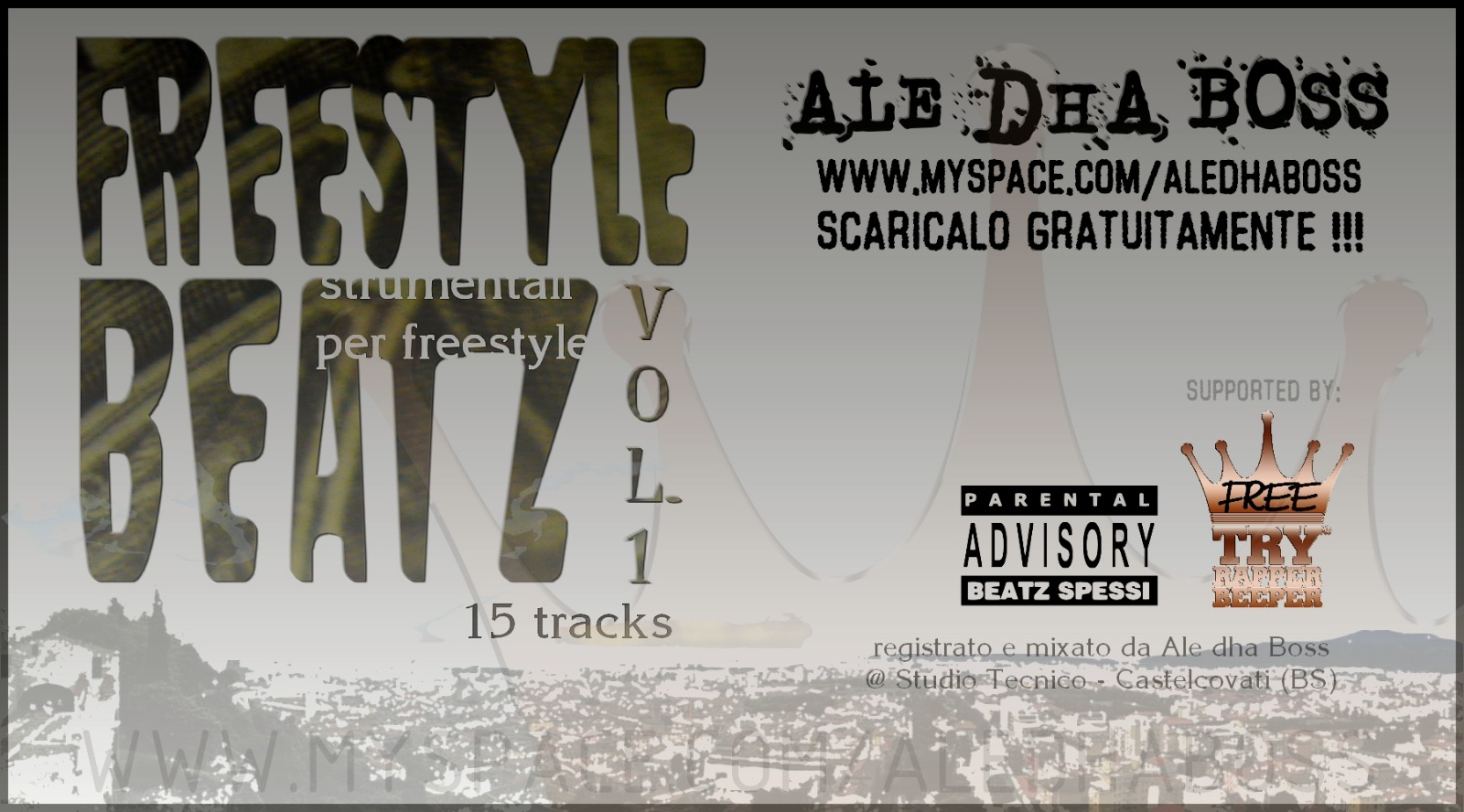 Freestyle Beatz vol. 1 di Ale Dha Boss