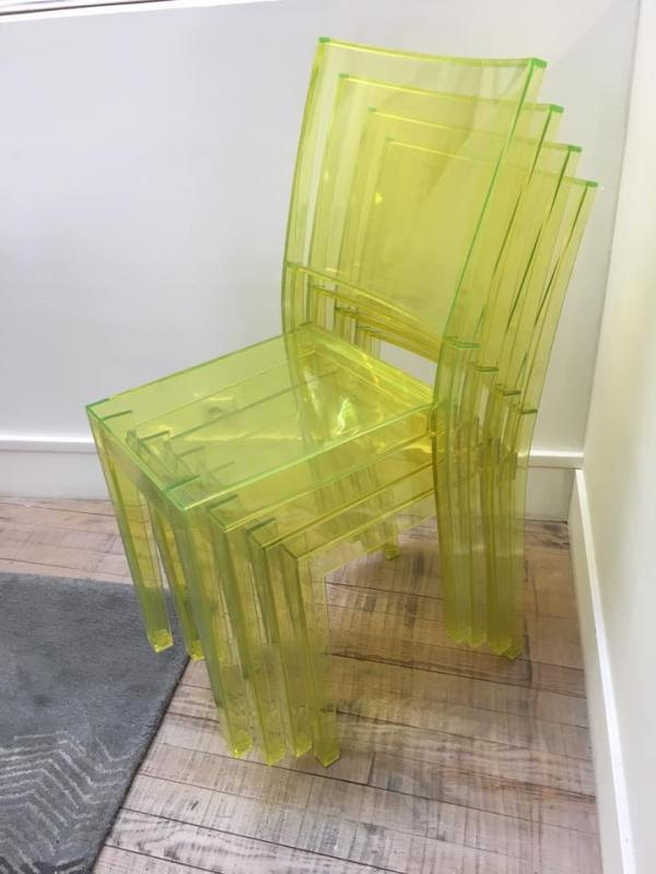 Lot de 4 Chaises Marie Philippe Starck pour Kartell