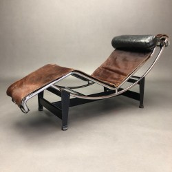 Chaise Longue LC4 Perriand Le Corbusier Jeanneret de 1970