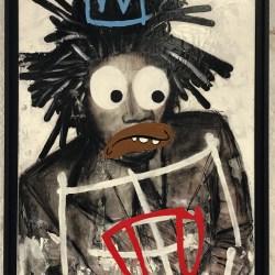Tableau portrait Basquiat 2 Ankor