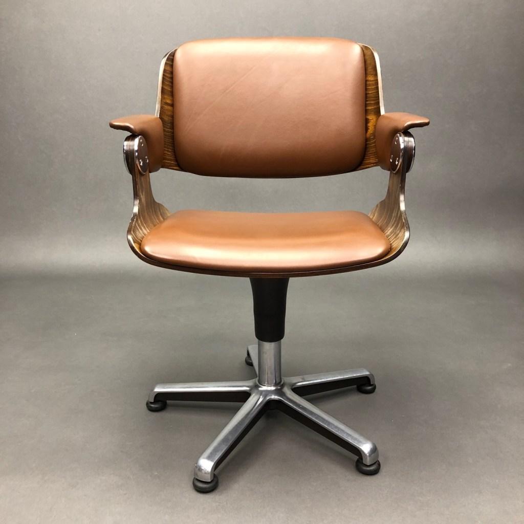 fauteuil pivotant vintage eugen schmidt 1
