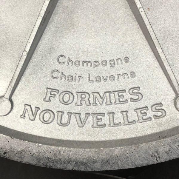 Lot de 4 fauteuils Champagne Erwine & Estelle Laverne Formes Nouvelles