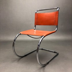 Lot de 4 chaises MR10 Mies Van Der Rohe Knoll