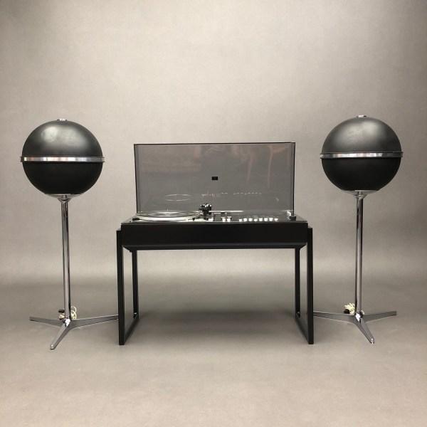 Ensemble Chaine Wega  3203 FET et une paire d'enceintes Grundig Audiorama 7000