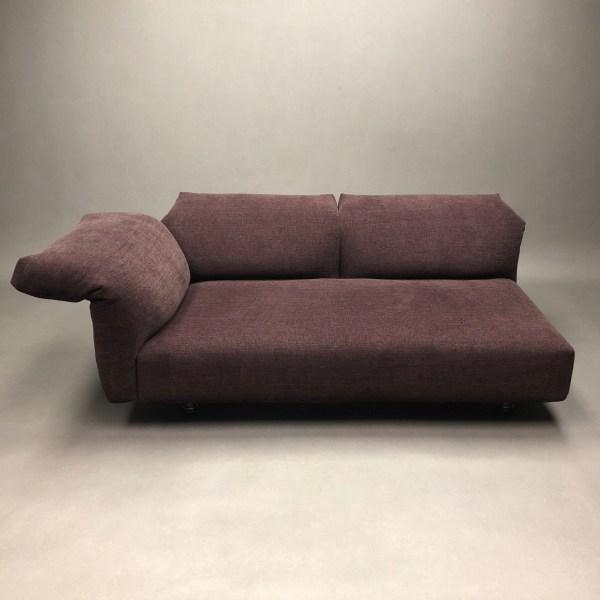 Canapé Essential Francesco Binfaré Edra accoudoir gauche