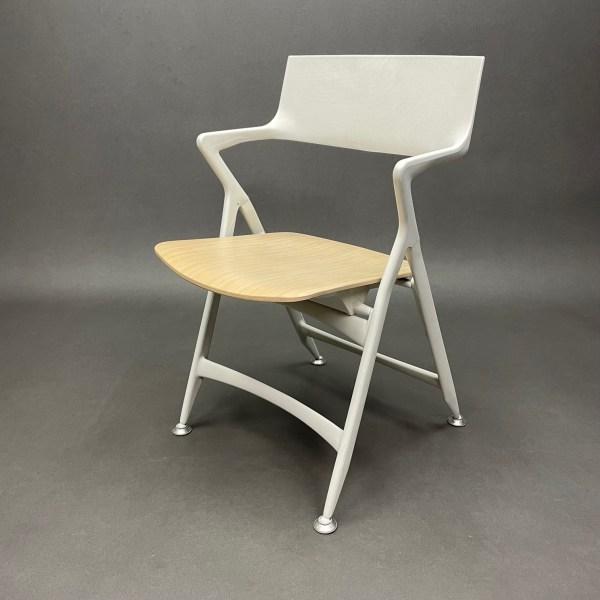 Chaise pliante assise chêne clair Dolly Antonio Citterio Kartell