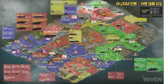 天堂M 中文版怪物弱點屬性掉寶地圖