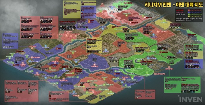 天堂M 最新版怪物弱點屬性掉寶地圖