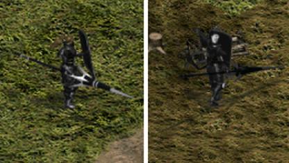 男女精英暗黑騎士