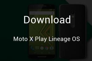 Moto X Play Lineage OS