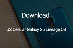 US Cellular Galaxy S5 Lineage OS