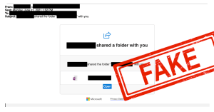 fake file share email