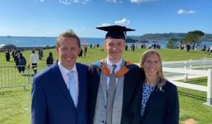 Lineal's Lewis Graduates Degree Apprenticeship