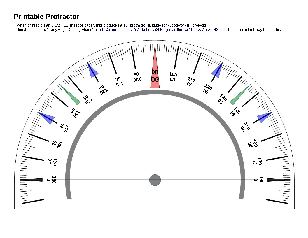 Search Results For Cut Out Printable Protractor