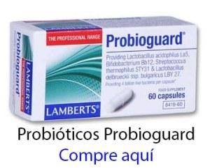 Probióticos con simbióticos