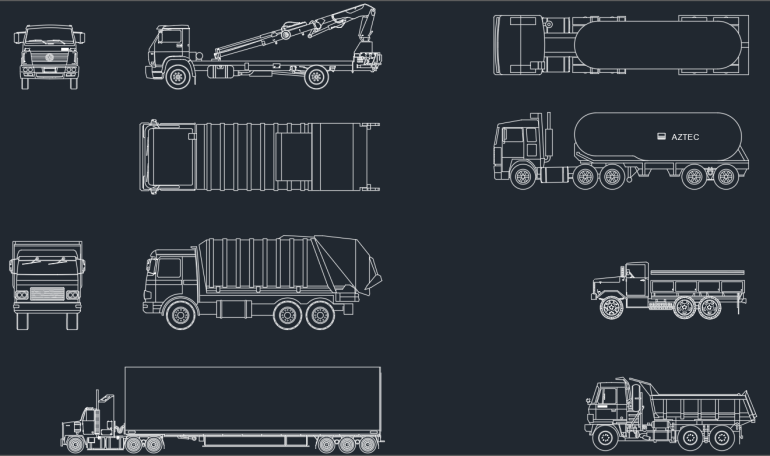 Trucks Cad Blocks Autocad Free Cad Block Symbols And