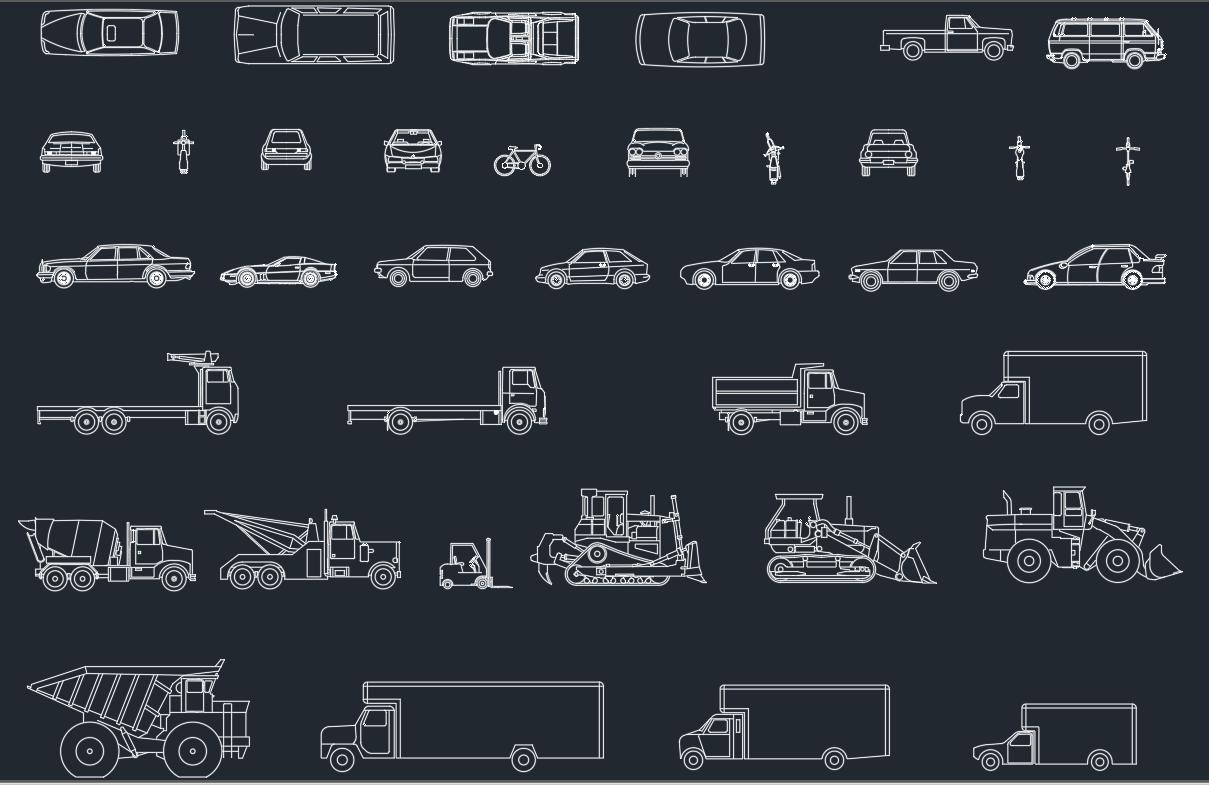 Vehicles Cad Blocks Autocad Free Cad Block Symbol And