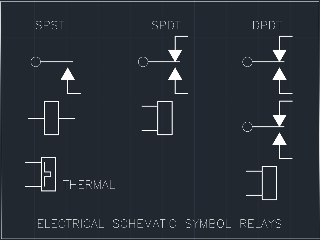Autocad Electrical Wiring Symbols Integrated Circuit Schematic Symbols