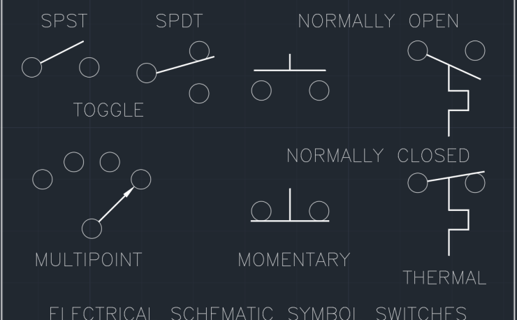 Electrical Schematic Symbol Switches