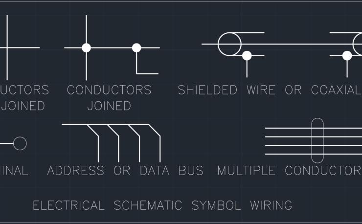 Electrical Schematic Symbol Wiring