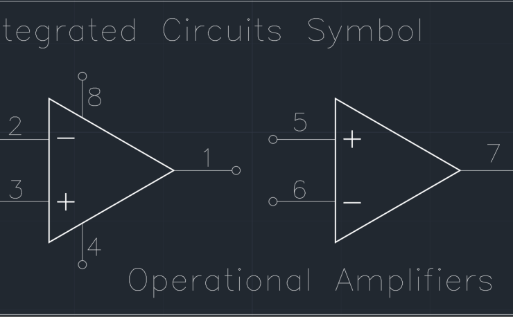 Integrated Circuits Symbol