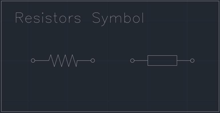 Resistors Symbol