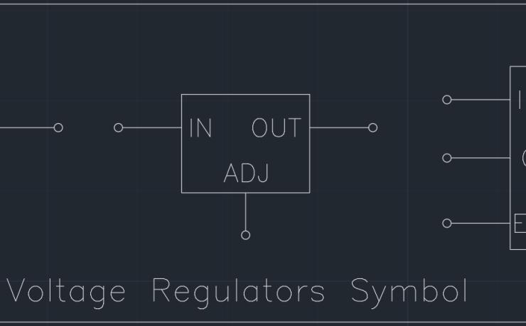Voltage Regulators Symbol