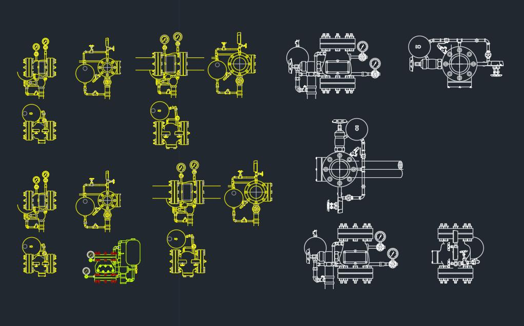 Alarm Valve Autocad Free Cad Block Symbol And Cad Drawing