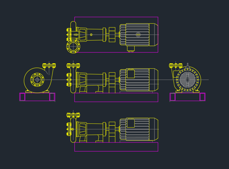 Booster pumps autocad free cad block symbol and cad drawing booster pumps ccuart Choice Image