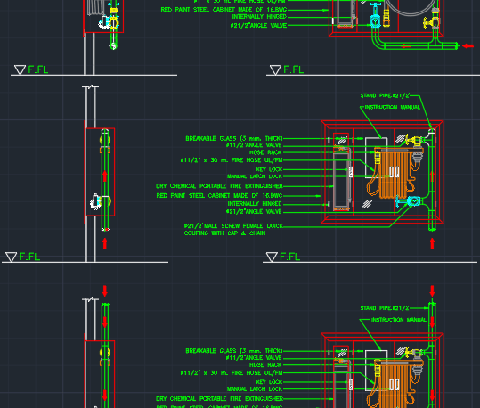 Fire Blanket Symbol Autocad - Autocad - Design Pallet Workshop