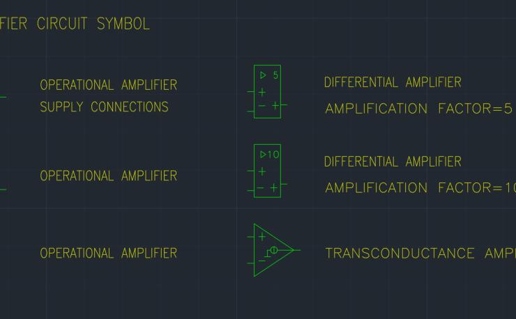 Amplifier Circuit Symbol