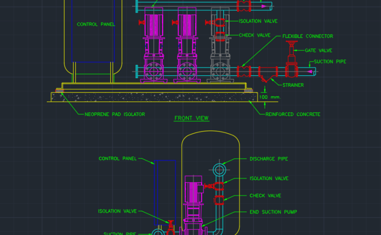 Gate Valve Cad Block And Typical Drawing For Designers