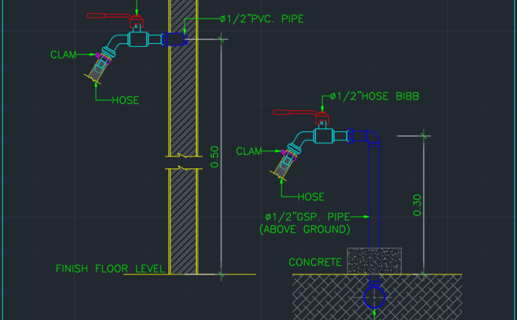 Hdpe Free Cad Blocks And Cad Drawing