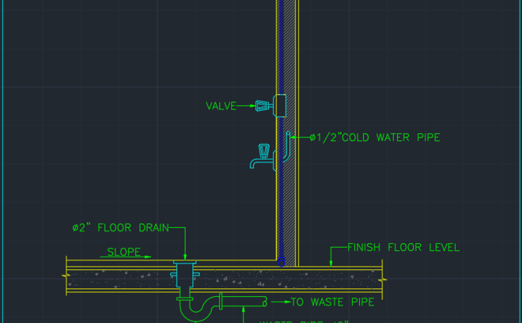 Alarm Valve Autocad Free Cad Block Symbols And Cad Drawing