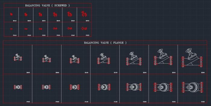 Balancing Valve Autocad Free Cad Block Symbol And Cad
