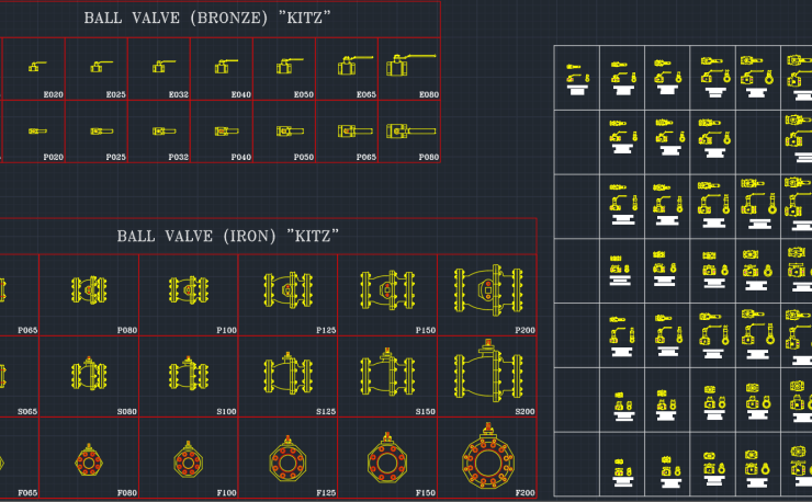 Valve Symbols | | CAD Block And Typical Drawing For Designers
