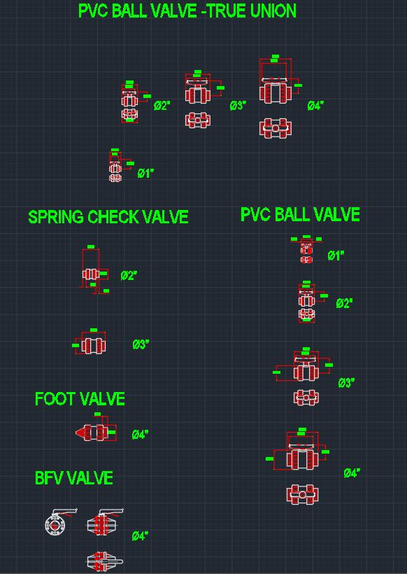 Pvc Ball Valve Autocad Free Cad Block Symbol And Cad Drawing