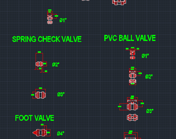 Pvc Fittings Autocad Free Cad Block Symbols And Cad