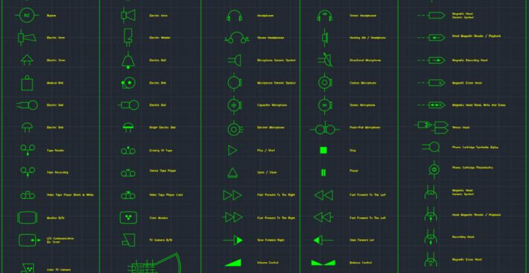 Audio And Video Symbols