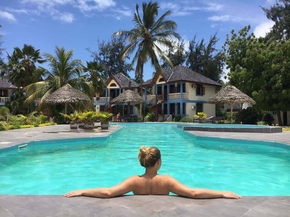 Zwembad Zanzibar