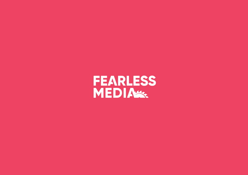 Fearless Media logo design