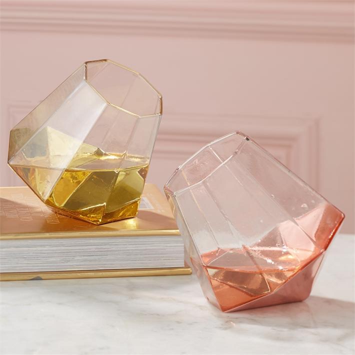 d08a21a3d64 Gold/ Rose Diamond glasses