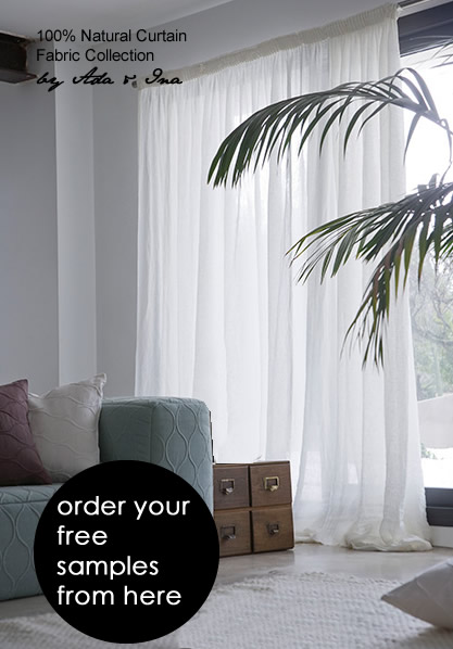 made to measure voile curtains