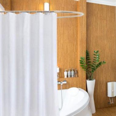 shower curtain hooks bath linen