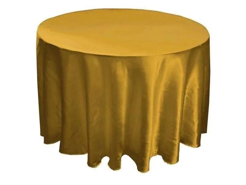 Gold Basic Table Cloth